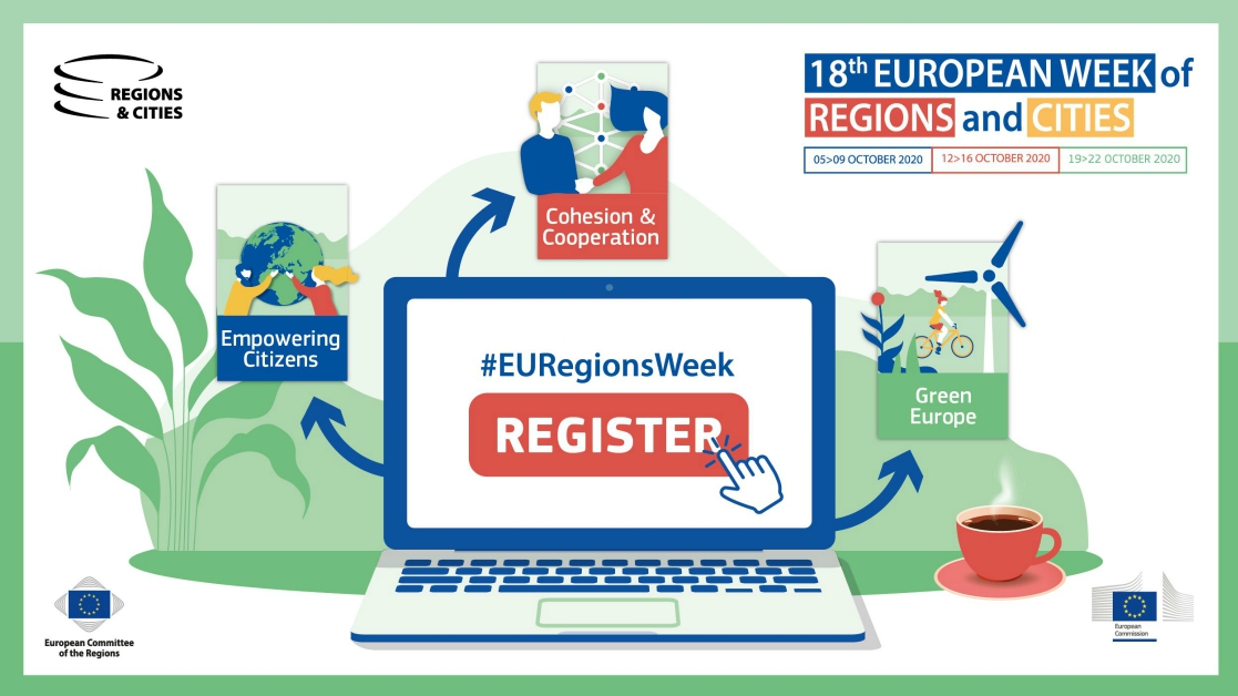 EU Regions week header